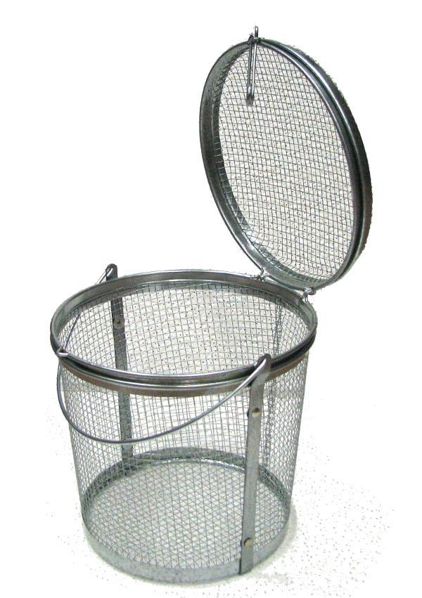 Parts Washing Mesh Steel Baskets