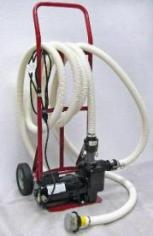 Solution Transfer Pump and Cart
